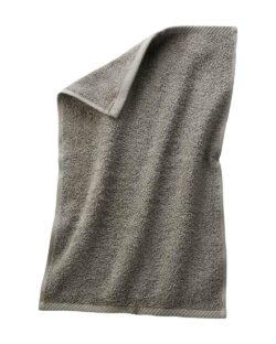Gråbeige gjestehåndkle i 100 % økologisk bomull » Etiske & økologiske klær » Grønt Skift
