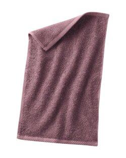 Gammelrosa gjestehåndkle i 100 % økologisk bomull » Etiske & økologiske klær » Grønt Skift
