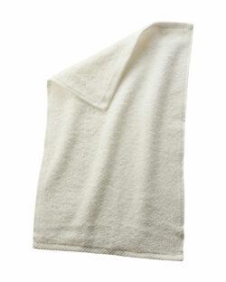Naturhvitt gjestehåndkle i 100 % økologisk bomull » Etiske & økologiske klær » Grønt Skift