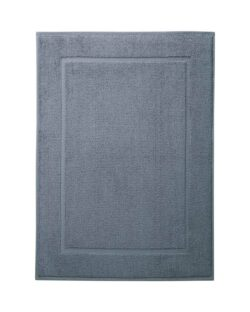 Blå badematte i 100 % økologisk bomull » Etiske & økologiske klær » Grønt Skift