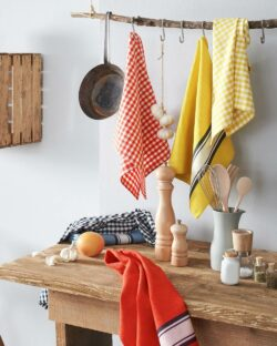 2 pk kjøkkenhåndklær i 100 % økologisk bomull » Etiske & økologiske klær » Grønt Skift