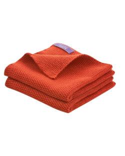 2 pk. røde kjøkkenkluter i 100 % økologisk bomull » Etiske & økologiske klær » Grønt Skift