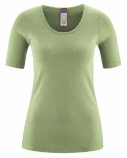 Pistasjgrønn t-skjorte - 100 % økologisk bomull » Etiske & økologiske klær » Grønt Skift