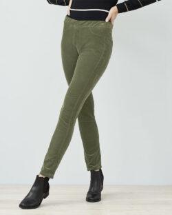 Olivengrønn bukse - økologisk bomull » Etiske & økologiske klær » Grønt Skift