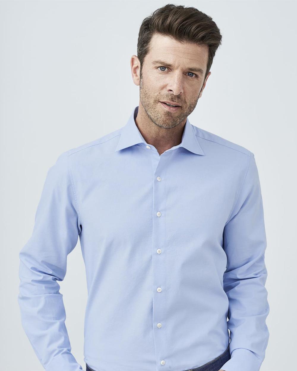 Lyseblå skjorte | Pascal | Skjorter | Miinto.no