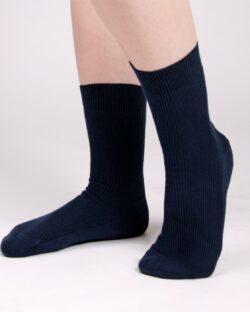 Svarte sokker uten plaststoffer » Etiske & økologiske klær » Grønt Skift