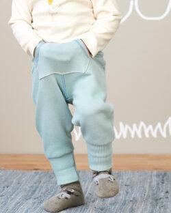Lyseblå bukse i 100 % økologisk bomull » Etiske & økologiske klær » Grønt Skift