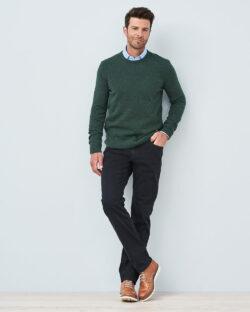 Mørkeblå bukse - økologisk bomull » Etiske & økologiske klær » Grønt Skift