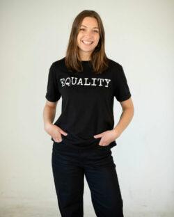 Better Living svart t-skjorte med trykk » Etiske & økologiske klær » Grønt Skift