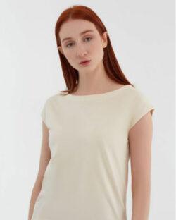Naturhvit bluse - økologisk bomull » Etiske & økologiske klær » Grønt Skift