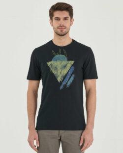 Svart t-skjorte med motiv - 100 % økologisk bomull » Etiske & økologiske klær » Grønt Skift