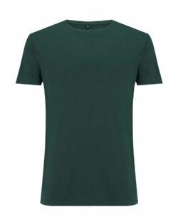 Flaskegrønn t-skjorte i 70 % EcoVero™ viskose og 30 % økologisk bomull » Etiske & økologiske klær » Grønt Skift