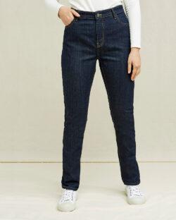 Mørkeblå slim fit jeans - økologisk bomull » Etiske & økologiske klær » Grønt Skift