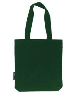 Flaskegrønt handlenett - 100 % økologisk bomull » Etiske & økologiske klær » Grønt Skift