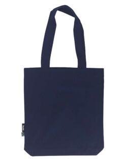 Mørkeblått handlenett - 100 % økologisk bomull » Etiske & økologiske klær » Grønt Skift