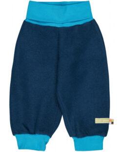Navy ullfleecebukse - økologisk ull/bomull » Etiske & økologiske klær » Grønt Skift