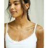 Hvit camisole med skjult støtte - økologisk bomull » Etiske & økologiske klær » Grønt Skift