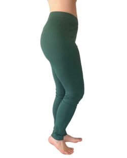 Tykke, grønne tights i bambusviskose » Etiske & økologiske klær » Grønt Skift