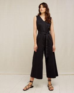 Svart Vesta jumpsuit - 100% økologisk bomull » Etiske & økologiske klær » Grønt Skift