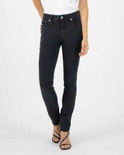 Skinny Hazen - Stone black jeans i resirkulert og økologisk bomull » Etiske & økologiske klær » Grønt Skift