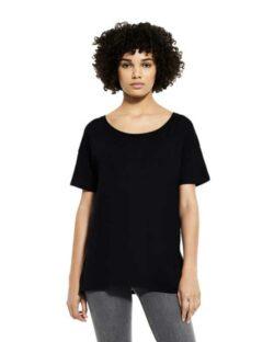 Svart t-skjorte i 50 % økologisk bomull og 50 % Tencel Lyocell » Etiske & økologiske klær » Grønt Skift