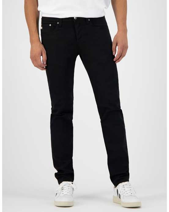 MUD jeans – Regular Dunn – Dip Dry svart jeans