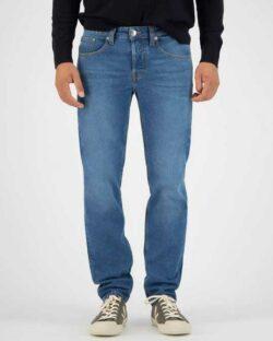MUD jeans - Regular Dunn - stone blue jeans i resirkulert og økologisk bomull » Etiske & økologiske klær » Grønt Skift