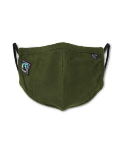Militærgrønt munnbind - 100 % økologisk bomull » Etiske & økologiske klær » Grønt Skift