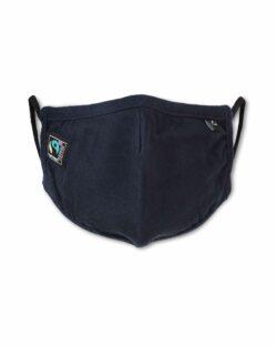 Mørkeblått munnbind - 100 % økologisk bomull » Etiske & økologiske klær » Grønt Skift