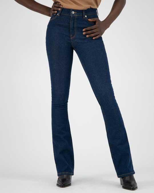 Flared Hazen – Strong blue jeans