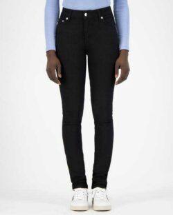Skinny Hazen - Dip Dry svart jeans i resirkulert og økologisk bomull » Etiske & økologiske klær » Grønt Skift