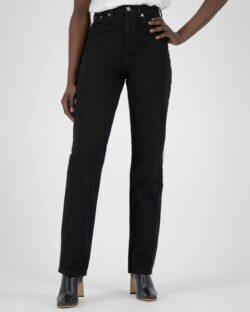 Mud Jeans - Relax Rose - Dip Black jeans i resirkulert og økologisk bomull » Etiske & økologiske klær » Grønt Skift