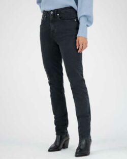 Mud Jeans - Stretch Mimi - Stone Black jeans i resirkulert og økologisk bomull » Etiske & økologiske klær » Grønt Skift