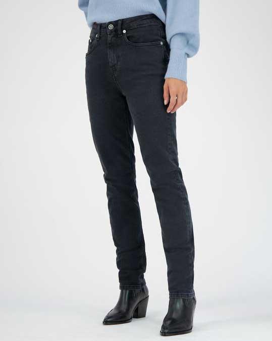 Mud Jeans – Stretch Mimi – Stone Black