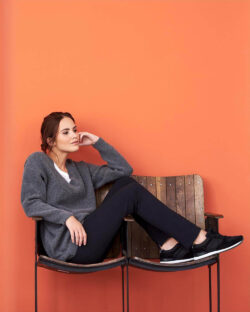 Svart jerseybukse - økologisk bomull» Etiske & økologiske klær » Grønt Skift