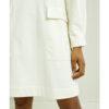 Hvit fleecekjole - 100 % økologisk bomull » Etiske & økologiske klær » Grønt Skift