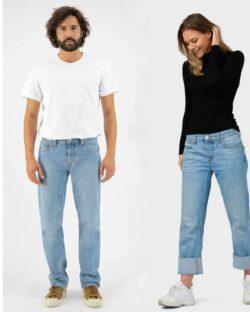 MUD jeans - Relax Fred unisex - heavy stone jeans i resirkulert og økologisk bomull » Etiske & økologiske klær » Grønt Skift