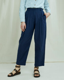 Navy bukse - 100 % økologisk bomull » Etiske & økologiske klær » Grønt Skift