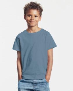 Indigo unisex t-skjorte - 100 % økologisk bomull » Etiske & økologiske klær » Grønt Skift