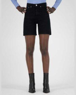 Beverly svart denim shorts - i resirkulert og økologisk bomull » Etiske & økologiske klær » Grønt Skift