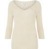 Kremhvit genser - 100 % økologisk bomull » Etiske & økologiske klær » Grønt Skift