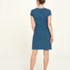 Blå knelang kjole - økologisk bomull » Etiske & økologiske klær » Grønt Skift
