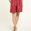 Rød shorts - 100 % EcoVero™ viskose » Etiske & økologiske klær » Grønt Skift