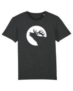 T-skjorte med hjort i 100 % økologisk bomull » Etiske & økologiske klær » Grønt Skift