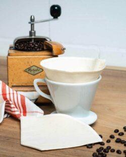 2 pack kaffefilter i 100 % økologisk bomull » Etiske & økologiske klær » Grønt Skift