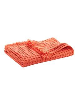 Oransje håndhåndkle i 100 % økologisk bomull » Etiske & økologiske klær » Grønt Skift