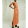 Lang ermeløs kjole - 100 % økologisk lin » Etiske & økologiske klær » Grønt Skift