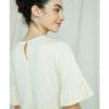 Kremhvit topp - 100 % økologisk bomull » Etiske & økologiske klær » Grønt Skift