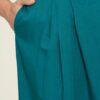 Sjøblått midi skjørt - 100 % EcoVero viskose » Etiske & økologiske klær » Grønt Skift