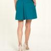 Sjøblått skjørt - 100 % EcoVero™ viskose » Etiske & økologiske klær » Grønt Skift